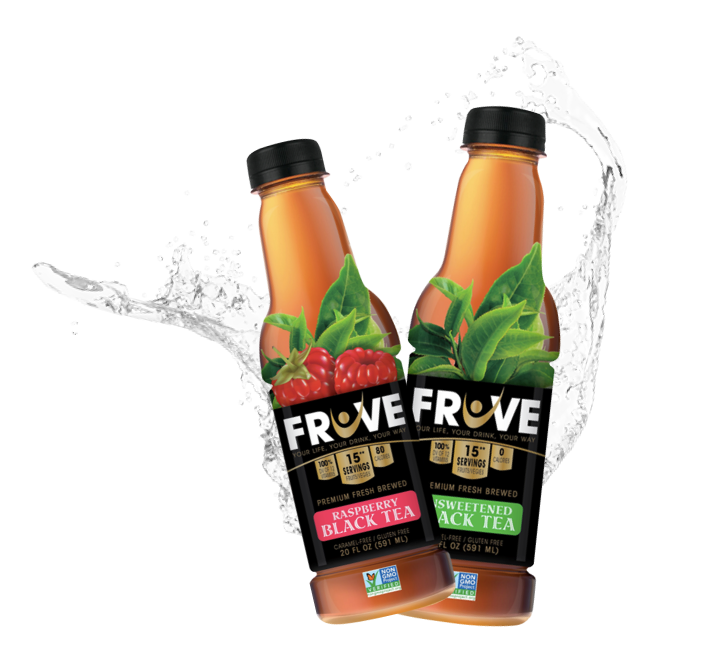 Fruve Fruits Juice | Black Tea | Unsweetened Tea