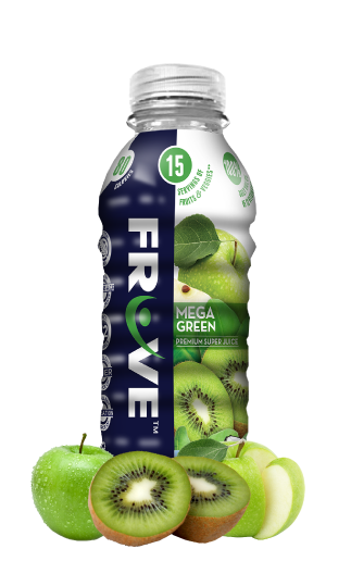 Fruve Fruits Juice | Mega Green | Mix of Green Apple And Kiwi