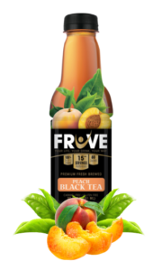 Fruve Fruits Juice | Peach Black Tea | Fresh Brewed Black Teas