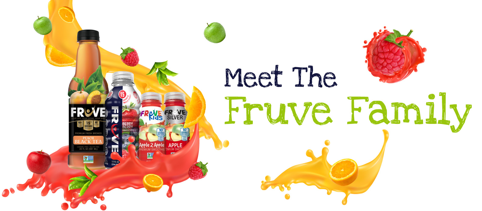 Fruve Fruits Juice | Product Page Banner | Fruve Family