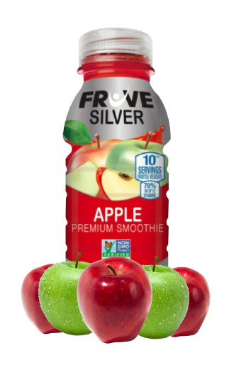 Fruve Fruits Juice | Fruve Silver | Apple Premium Smoothie | Drink Healthy